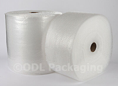 2 Rolls Small Bubbles Bubble Wrap 300mm x 100 M - CHEAP