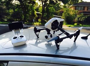 Dji Inspire 1 Drone + 2 Batteries & Extras Merrylands Parramatta Area Preview