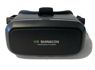 VR Shinecon Headset Virtual Reality 3D Glasses Iphone Samsung Sony Reality 1080P