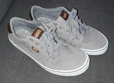 Mens Vans Off the Wall Canvas Atwood shoe 721356 Grey Used UK size 5