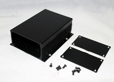 Black Aluminum Project Box Case Electronic Box1166 Al Enclosure Us Stock