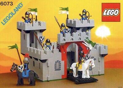 LEGO 6073 Knight's Castle 100% Complete W/box & Original Instruction Manual