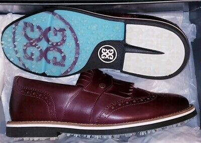 G FORE Brogue Kiltie Cruiser Bubba Watson Golf Shoes Men Size 9