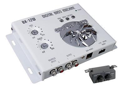 Soundstream BX-12W White Digital Bass Boost Processor Remote Control Epicenter