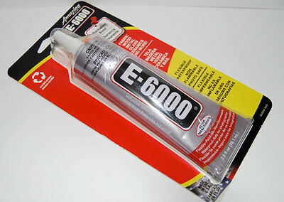 E6000 Industrial Strength Jewelry Glue 2.0 Oz. Tube for sale  Shipping to India