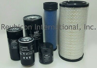 Mahindra Tractor Economy Pack Of 6 Filters -0790.0789.6115.6626.3351.8618
