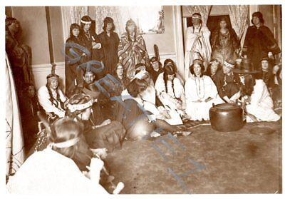 vintage 1910s-20s image white girls/teens Indians Squaws costumes,Halloween](Halloween Costumes 1910)