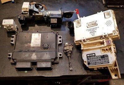 SUZUKI SWIFT 2004-10 1.3 PETROL ENGINE ECU IGNITION TRANSPONDER FUSE BOX BSI BSM