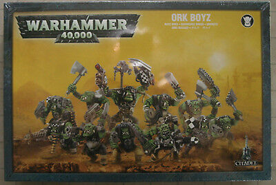 Warhammer 40K Ork Boyz  (50-10) NEW