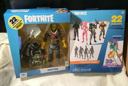 "McFarlane Toys  FORTNITE EPIC games  RAPTOR  7"" Action figur"