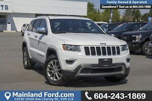 2014 Jeep Grand Cherokee Limited *ACCIDENT FREE* *LOCALLY DRI...