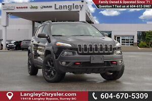 2017 Jeep Cherokee Trailhawk *COMFORT GROUP* TOW GROUP* *17''...