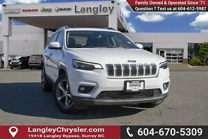 2019 Jeep Cherokee Limited *LUXURY GROUP* *4x4* *PANO ROOF*