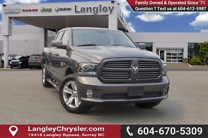 2014 RAM 1500 Sport <b> *LOCAL *NO ACCIDENTS<B>