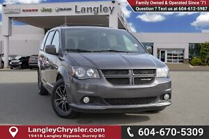 2018 Dodge Grand Caravan GT - Bluetooth -  Leather Seats