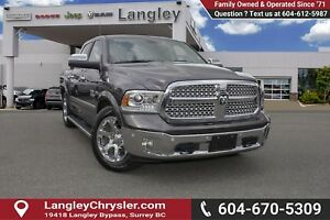 2017 RAM 1500 Laramie <B>*LOCAL BC  *NO ACCIDENTS *SINGLE OWN...