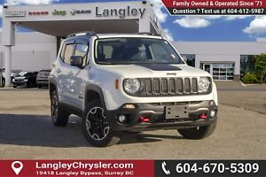 2016 Jeep Renegade Trailhawk *BLUETOOTH* * NAVIGATION* * BACK...