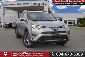 2017 Toyota RAV4 Hybrid LE+ <B>*LOCAL BC  *NO ACCIDENTS *SING...