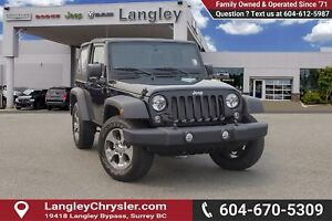2017 Jeep Wrangler Sport <B>*LOCAL BC  *NO ACCIDENTS *SINGLE...