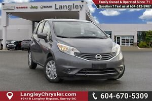 2016 Nissan Versa Note 1.6 S *BLUETOOTH*