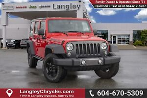 2016 Jeep Wrangler Unlimited Sport *BLUETOOTH*