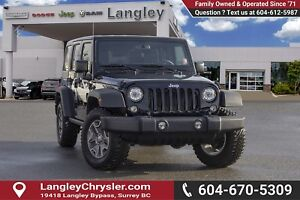 2018 Jeep Wrangler JK Unlimited Rubicon *ACCIDENT FREE* * LOC...