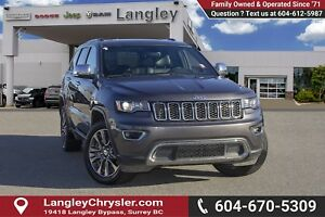 2018 Jeep Grand Cherokee Limited *ACCIDENT FREE*