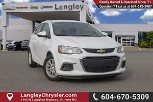 2017 Chevrolet Sonic LT Auto <B>*NO ACCIDENTS *SINGLE OWNER<B>