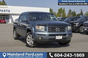 2007 Honda Ridgeline EX-L *LOCALLY DRIVEN*