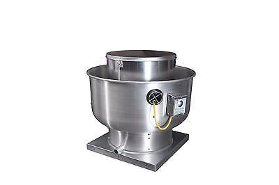 Captive-aire Systems Inc. Commercial Upblast Exhaust Fan 1 Hp 3000 Cfm