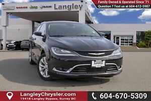 2015 Chrysler 200 C *WELL MAINTAINED*