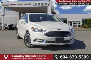 2017 Ford Fusion Titanium <B>*NO ACCIDENTS*<B>