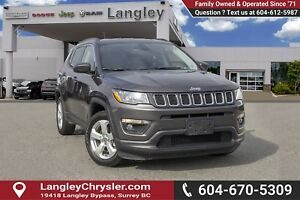 2018 Jeep Compass Limited <B>*LOCAL BC  *NO ACCIDENTS *SINGLE...