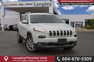 2018 Jeep Cherokee Limited *BLUETOOTH* * NAVIGATION* * BACKUP...