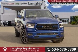 2019 RAM 1500 Sport *BLUETOOTH* * NAVIGATION* * BACKUP CAMERA*