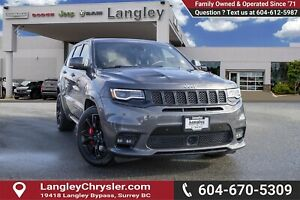 "2017 Jeep Grand Cherokee SRT *PANO ROOF* *20"" BLACK WHEELS* *..."