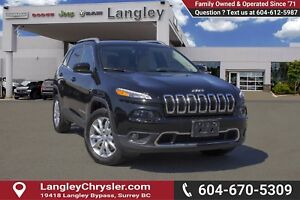 2017 Jeep Cherokee Limited <B>*NO ACCIDENTS *SINGLE OWNER<B>
