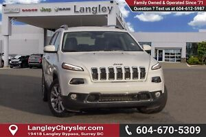 2018 Jeep Cherokee Limited *V6* *LEATHER* *BLUETOOTH*