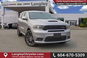 2018 Dodge Durango R/T <b> *LOCAL *NO ACCIDENTS *SINGLE OWNER