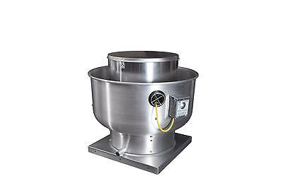 Captive-aire Systems Inc. Commercial Upblast Exhaust Fan 1hp 3700 Cfm