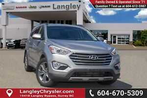 2015 Hyundai Santa Fe XL <B>*LOCAL BC  *NO ACCIDENTS *SINGLE...