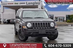 2016 Jeep Patriot Sport/North *MANUAL TRANSMISSION*