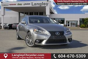 2016 Lexus IS 300 *ACCIDENT FREE* * LOCALLY DRIVEN*