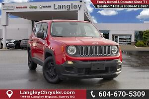 2015 Jeep Renegade Sport *LOCALLY DRIVEN*