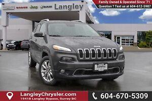 2016 Jeep Cherokee Limited *BLUETOOTH* * NAVIGATION* * BACKUP...