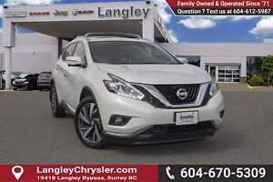 2015 Nissan Murano Platinum <B>*LOCAL BC  *NO ACCIDENTS *SING...