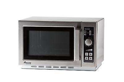 Amana Rcs10dse 1.2 Cu.ft Microwave Oven Medium Volume Stainless 1000 Watts