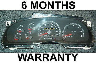 1997-98 Ford F150 F250 Pickup Expedition Gas Instrument Cluster Tach -6Month War