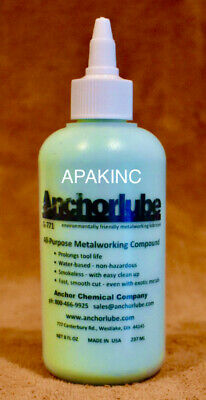 Anchorlube G-771 8 Oz. Squeeze Bottle Now With Twist Open And Close Cap