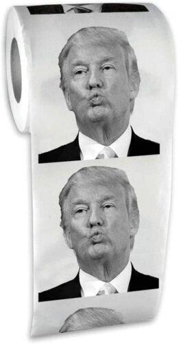 President Donald Trump Toilet Paper Roll - (Classic Face!) Funny GaG Prank Joke
